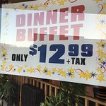 Lunch buffet is only $7.95 supper is only $12.99. We have the best ice cream and French fried be