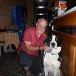 Brian, the Albergo caprile guard dog!
