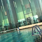 outdoor swimming pool at 9th floor