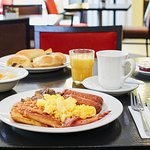 Delicious breakfast at Holiday Inn Express Belfast