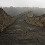 Great Wall at Huanghuacheng Foto