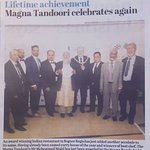 Owner receives life time achievement awards