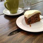 Carrot cake with great icing