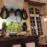 Inside Le Relais de la Salamandre