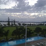 This was in winter but you can see the great view over to South Perth