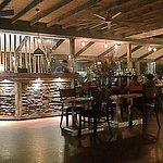 inside - bar area