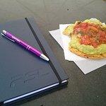 lectura y desayuno