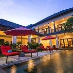 Private Pool villa view