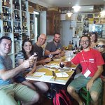 smiles all round on our Florence Markets and Delis Tour with Luca