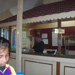 Inside Frank Ross Cafe, Darjeeling.