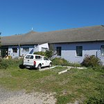 """A View of """"Lighthouse Farm Backpackers lodge""""."""