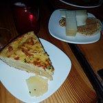 Spanish omelette & idiazabal cheese with walnuts