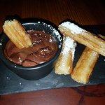 Churros & hot chocolate