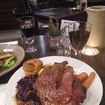 Massive and very tasty roast beef