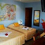 Nuestras cómodas habitaciones cuentan una historia a través de sus mosaicos