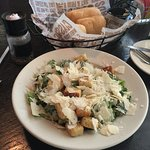 This is just the side salad! I love the Caesar Salad with extra parmesan!