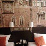 Ratusz wrocławski w pokoju hotelowym :))