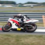 Motorcycle track day learning