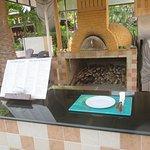 Out Door Pizza restaurant