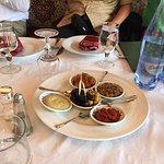 Ait Bougumez restaurant nibbles