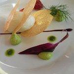 salade de chèvre grand art