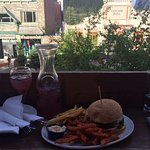 Enjoy the beautiful Banff views from the balcony in Summer!