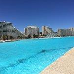 Simplemente increíble! Son casi 2k de piscina siendo la más grande del mundo por récord Guinness