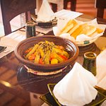 Chicken Tagine with vegetables