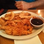 Chicken tenders look good but were no better than what I fix at home.