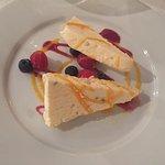 Passion fruit meringue