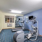 Enjoy our Fitness Room, Open 24 Hours.