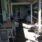 Front veradah for breakfast