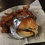 Texas Style Brisket Sandwich