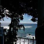 Ocean front.