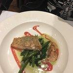 Delicious herb encrusted pistachio salmon dish