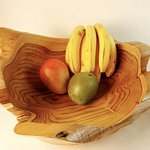 Sustainably harvested wood. Tree root bowls!