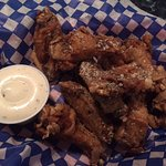 Salt and Pepper Wings, Quarterdeck Restaurant and Pub  6555 Hardy Bay Road, Port Hardy, British