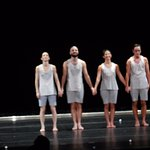 Curtain call at BAM Opera House for Jonah Boakaer's dancers in WHY PATTERNS