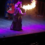 Changing Face Opera (with fire)