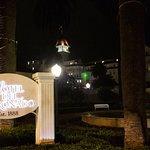 Hotel Del Coronado by night