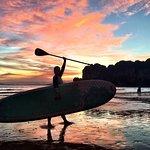 Paddleboarding na stojąco