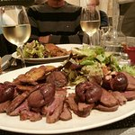 Magret de canard with figs