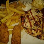 Triple chicken meal