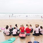 Quiksilver Surf School Newquay Foto