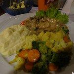 Cafe Habana - frozen food meal :)