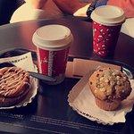 Petit-déjeuner chez Starbucks