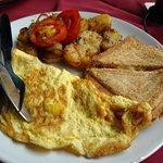 english breakfast (their version but yum ;)