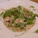risotto with goat cheese