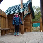 In the outdoor play area