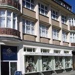 Das Geschäftshaus in der Annenstraße 9 in Plauen